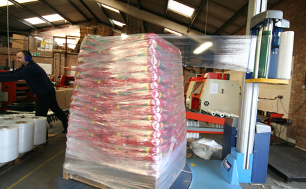 clear film machine wrap pallet wrap